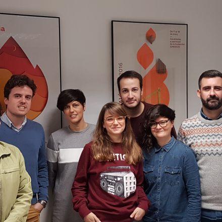 El dissenyador gràfic Dani Nebot serà l'encarregat de realitzar el cartell tradicional i la campanya gràfica de les pròximes Falles de València