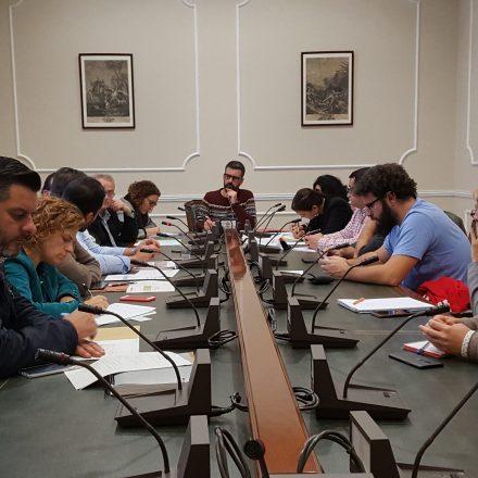 L'Ajuntament de València s'ha reunit amb la comissió de revitalització de la ciutat de l'artista faller per a coordinar les accions previstes