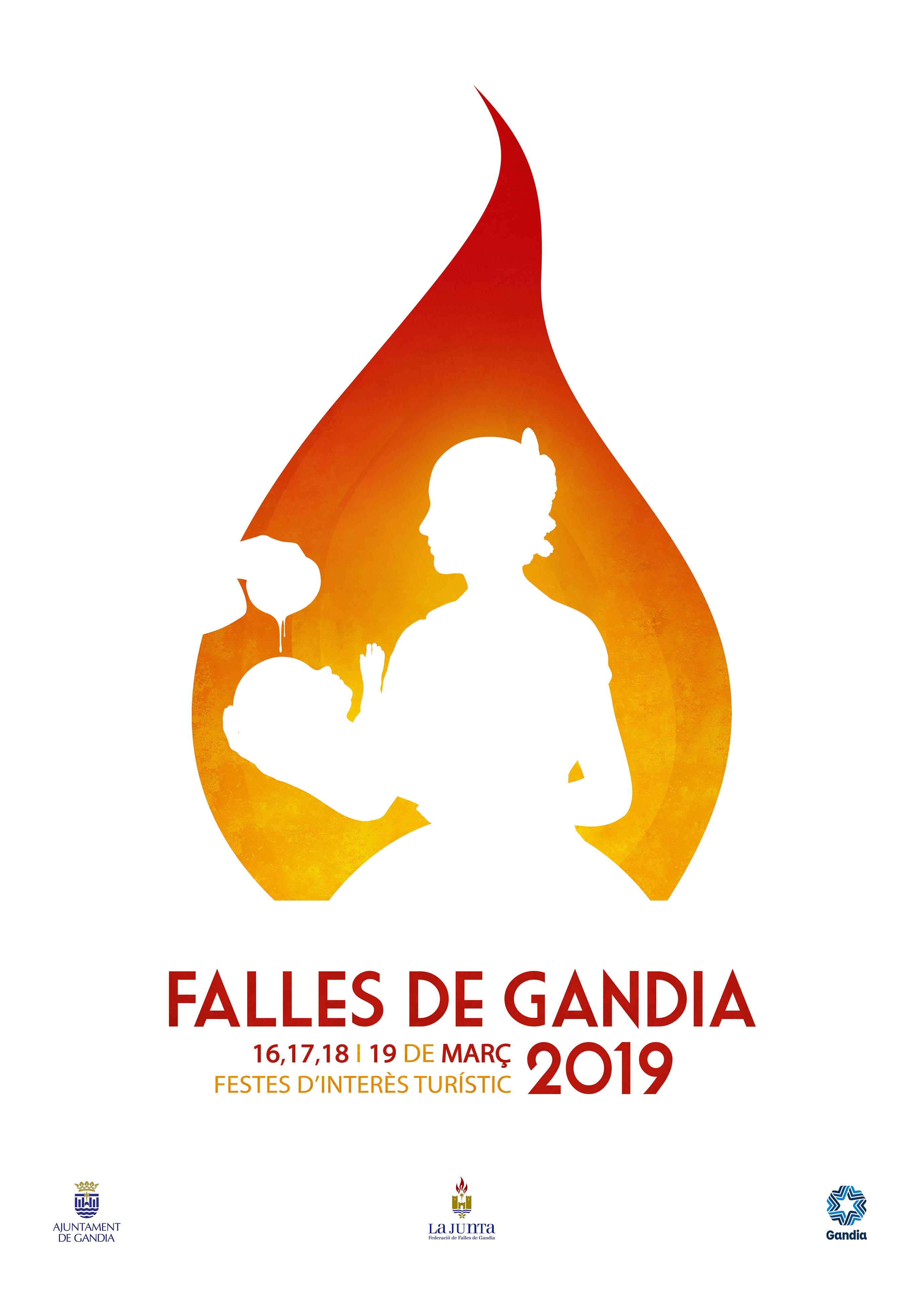 Rubén Lucas Garcia guanya el Concurs de Cartells Tomàs Femenia i la seua obra anunciarà les falles del 2019