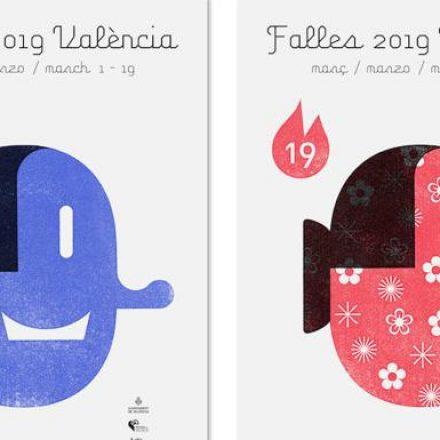 València presenta els cartells innovadors que anuncien les falles del 2019