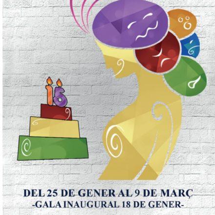 Les Falles de Gandia celebren el XV aniversari de la Mostra de Teatre Ligorio Ferrer