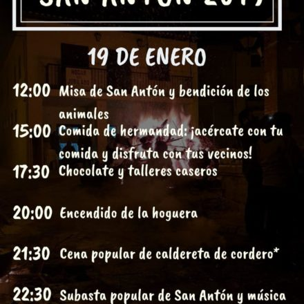 Losilla de Aras celebra las fiestas de San Antón de Abad