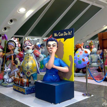 L'exposició del ninot de València estarà oberta divendres fins mitjanit