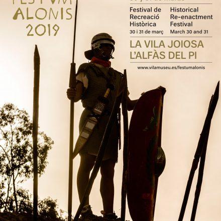 El evento de recreación histórica romana FESTVM ALONIS se celebrará en la Vila y L' Alfàs del Pi