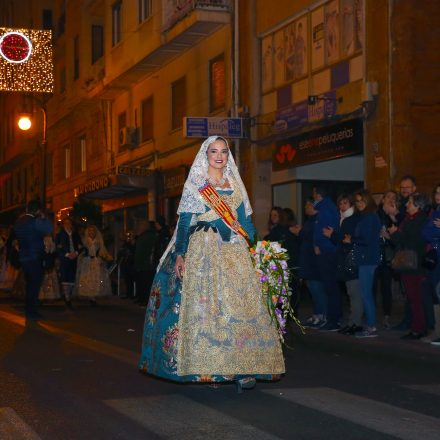 Marina Civera tancava una de les ofrenes més multitudinàries
