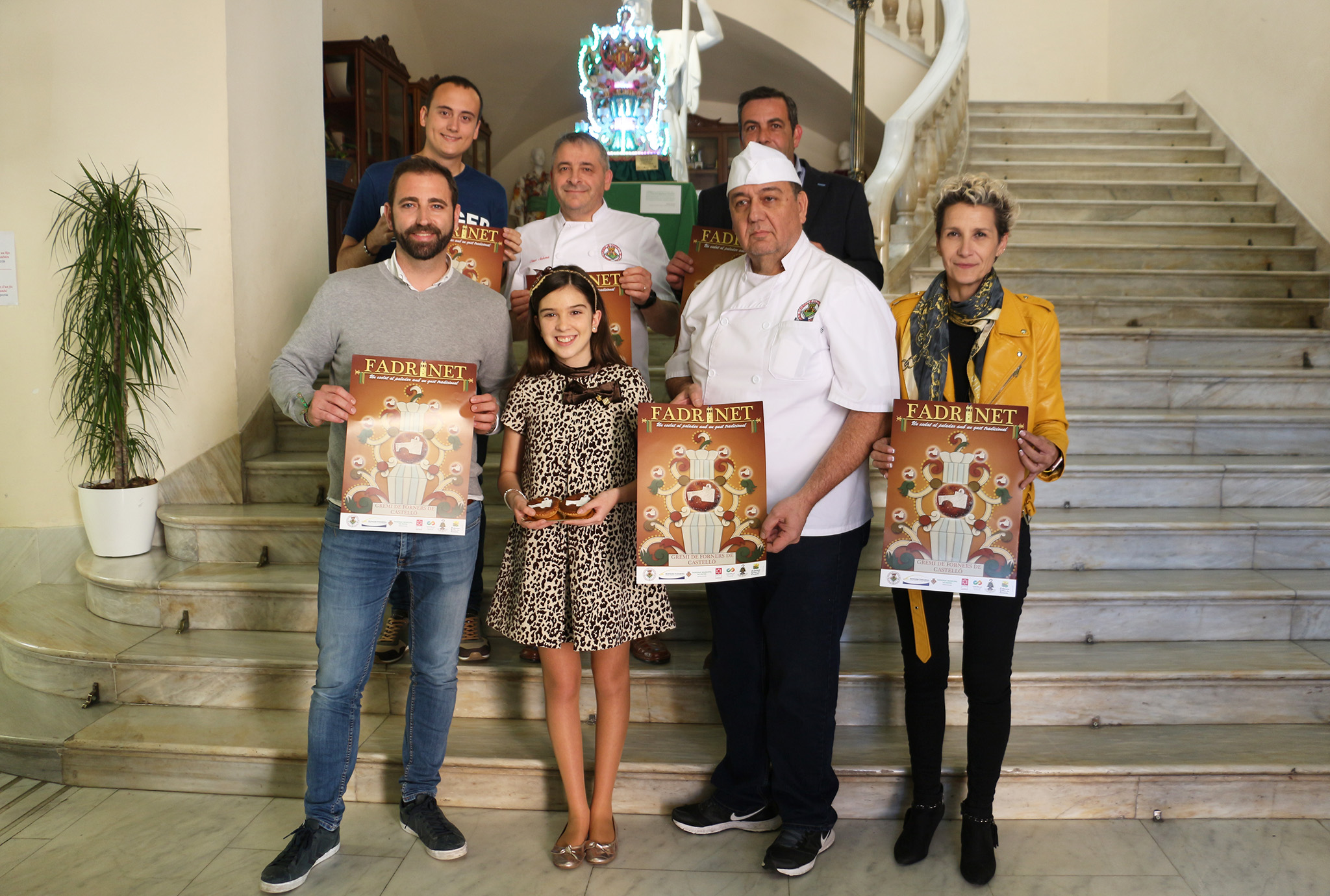 El diseño de Alberto Villarroja,'Esclat de gust', gana el III Concurso de Carteles del Fadrinet