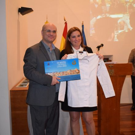 La XIX edición de la Mostra de Cuina Marinera finaliza con un homenaje a Marta Devesa