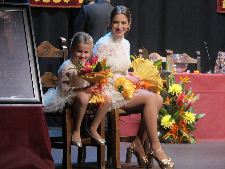 Les germanes Rocío i Nayara Salido són elegides Reines Major i Infantil de les Festes de L'Olleria