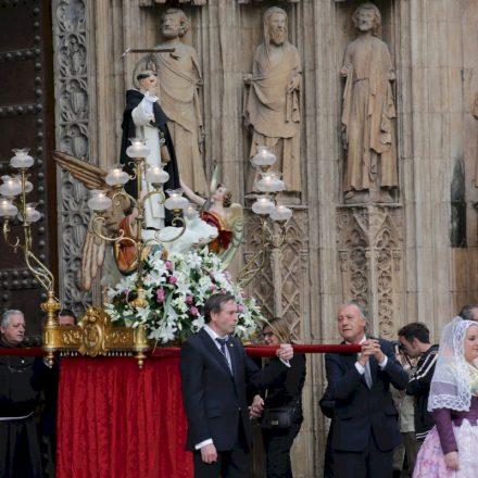 Processó sense precedents en honor a Sant Vicent Ferrer a València