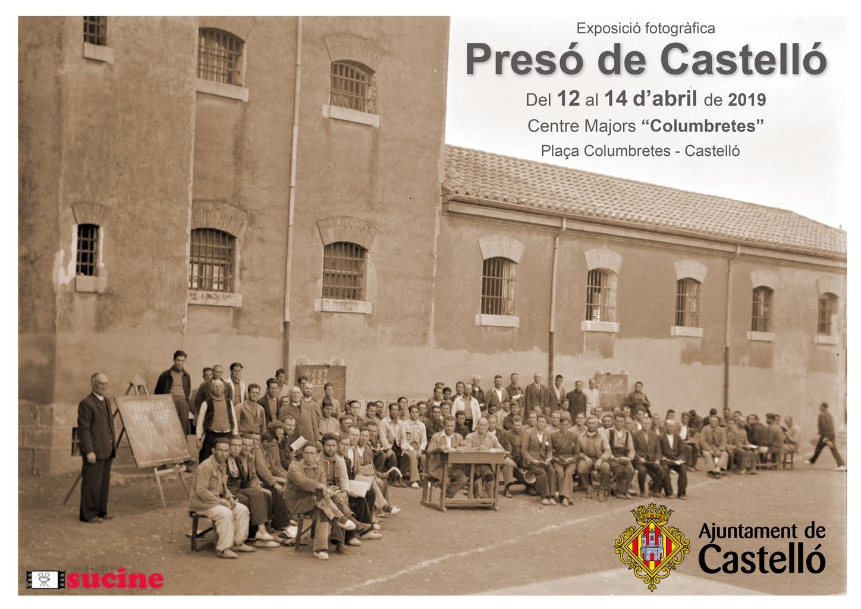 Castelló fa memòria amb una exposició fotogràfica sobre els orígens de la presó