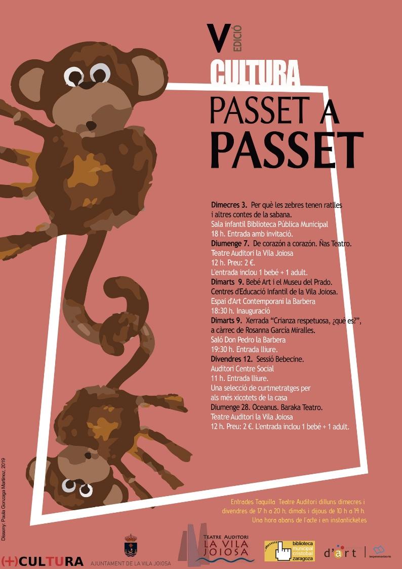 La Vila celebra la V Edición de 'Cultura Pasito a Pasito'