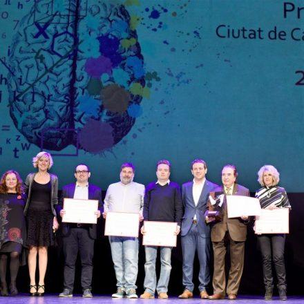 L'Ajuntament lliura els Premis Ciutat de Castelló 2019 al Teatre del Raval